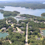 Chattahoochee Country Club neighborhood aerial, copyright Sheila Davis & Company