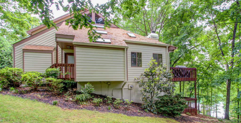 Hilton Head Style Lake Lanier Home for sale with dock in Flowery Branch, GA South Lake