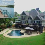 Water front Lake Lanier GA home just listed by Sheila Davis Group Norton Agency private dock
