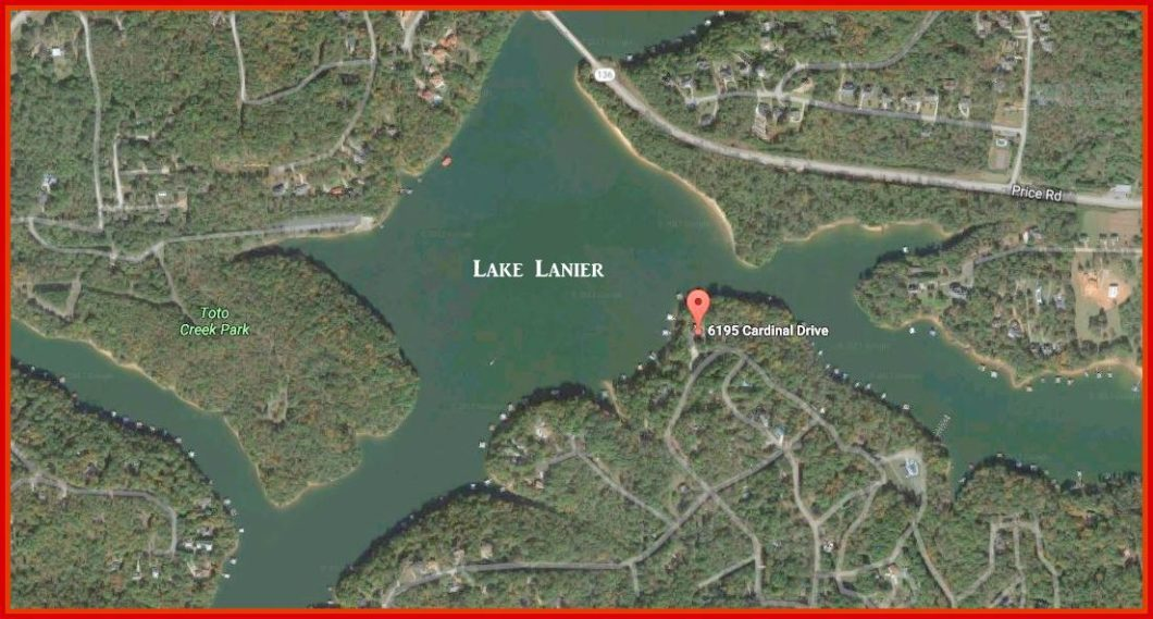 35 lake map 6195 Cardinal Dr