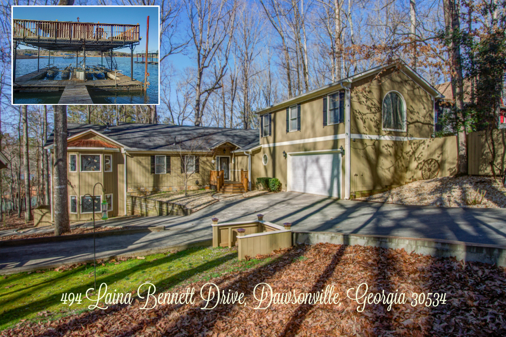 Home For sale on Lake Lanier 494 Laina Bennett