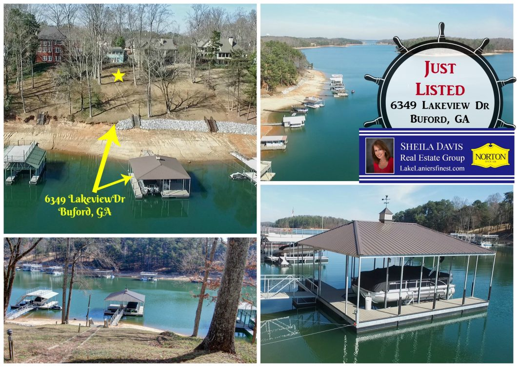 Just listed on South Lake Lanier