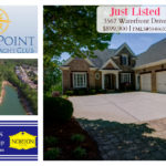 Just listed in Harbour Point Yacht Club Harbour Point Gainesville GA home for sale Sheila Davis Group Norton Realty