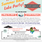 The Sheila Davis Group sponsors Lake Lanier Association Event at Fish Tales Grill Hideaway Marina