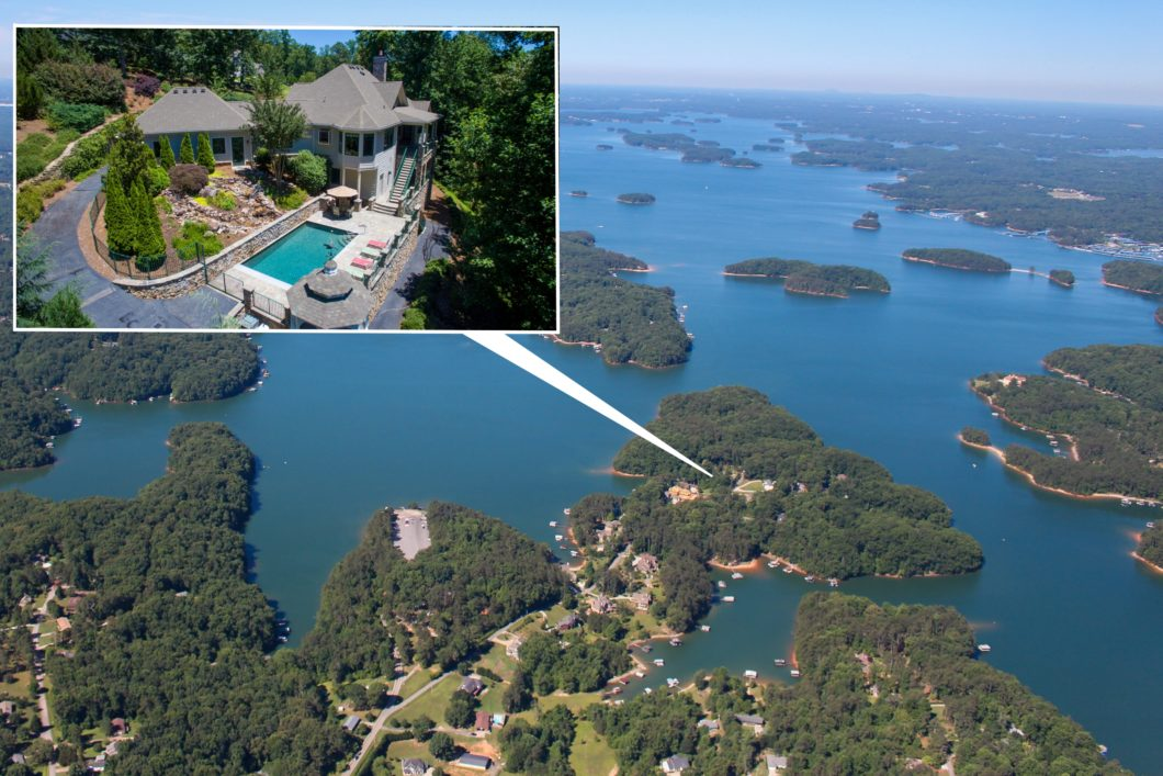SUNSET VIEWS EVERY NIGHT Lake Lanier, GA, FOR SALE HOME, Sheila Davis, The Norton Agency, Realtor, 4833 Propes Drive, Oakwood, GA 30566