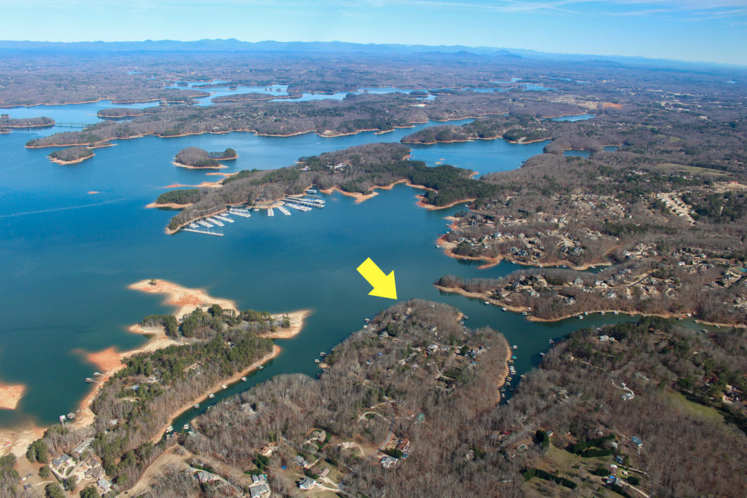 build a home on south lake lanier or renovate
