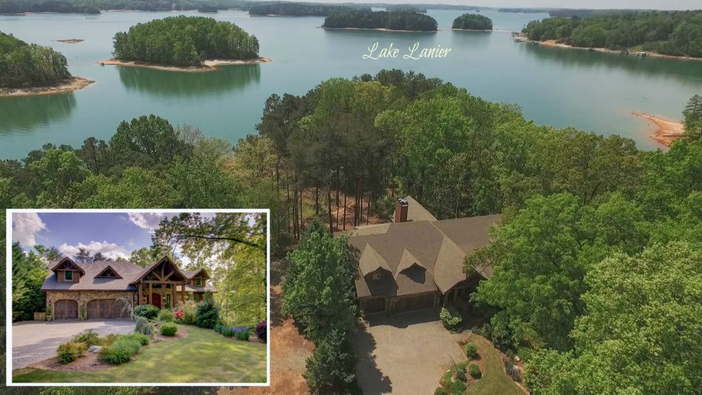 7480 Kings Point Dr SOLD on Lake Lanier by Sheila Davis Real Estate Group