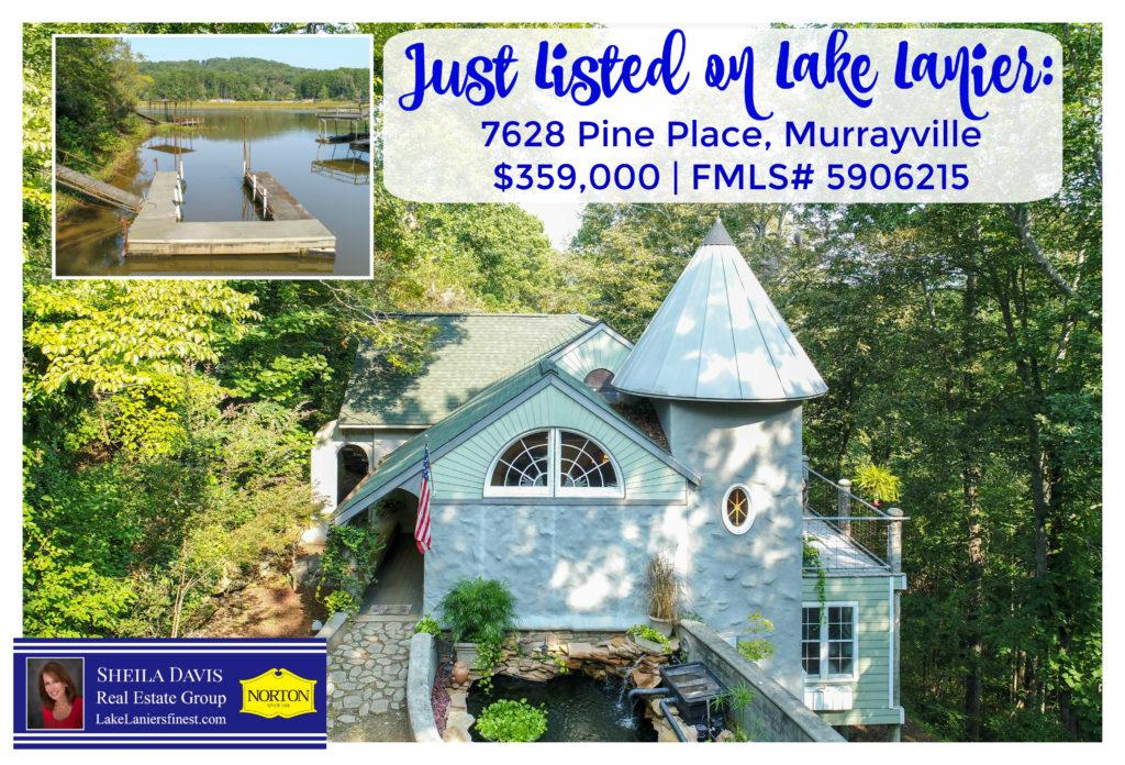 Home for sale on Lake Lanier, Sheila Davis, 770-235-6907
