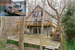 8895 Knoll Drive, Gainesville, GA 30506 on Lake Lanier sold by The Sheila Davis Group, Lake Lanier Realtors