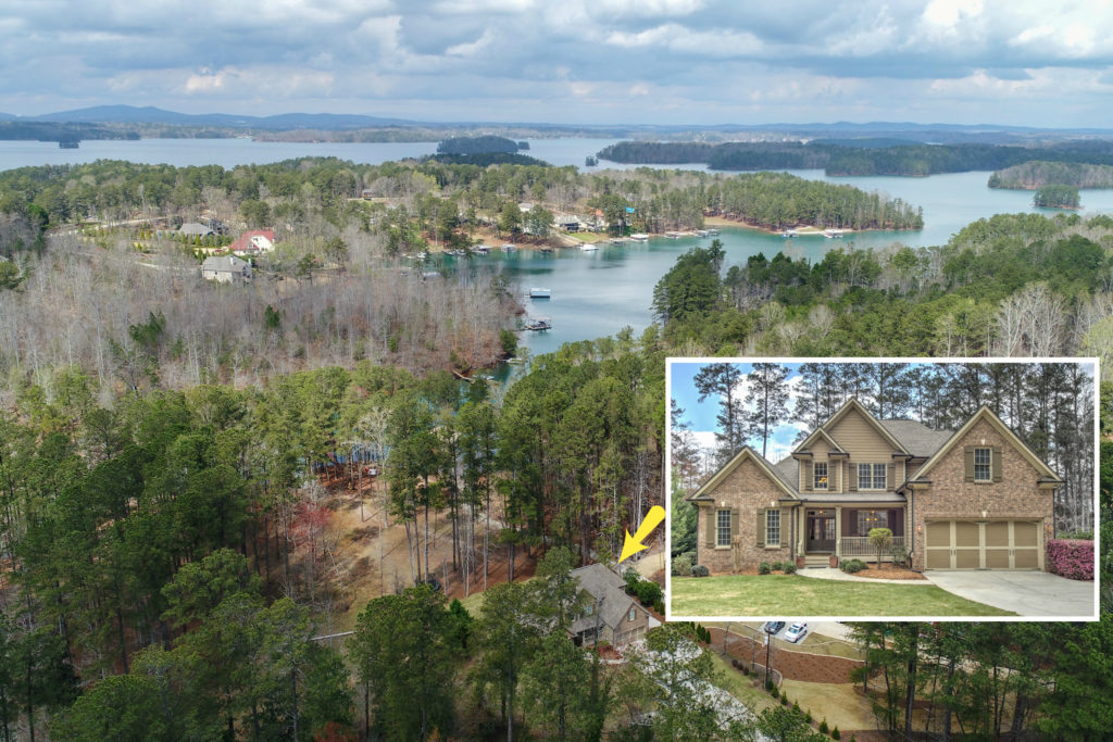 homes for sale lake lanier GA Georgia