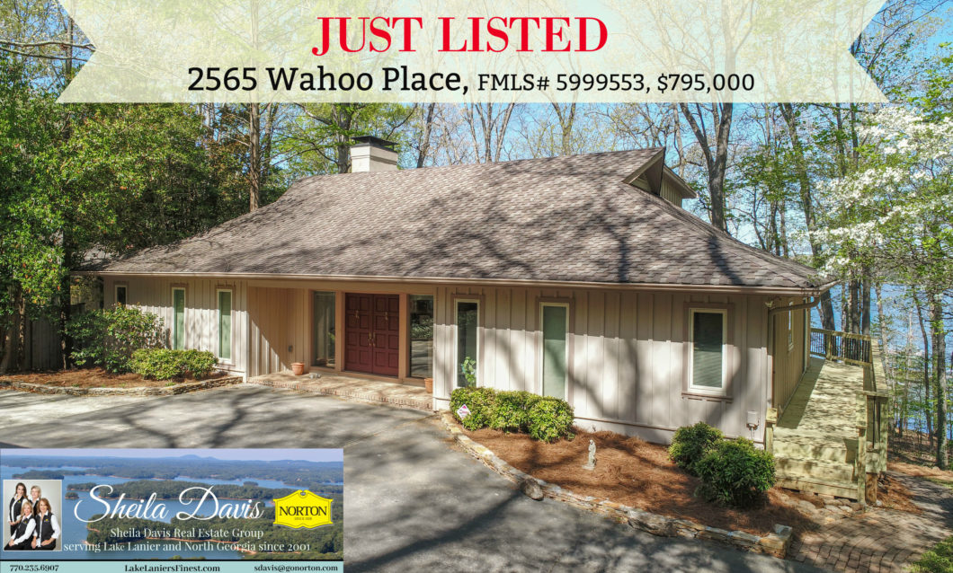2565 Wahoo Place, Homes for sale on Lake Lanier