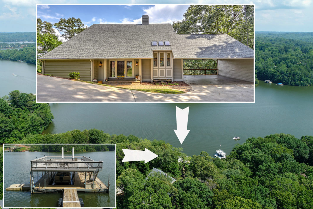 Lake Lanier home for sale