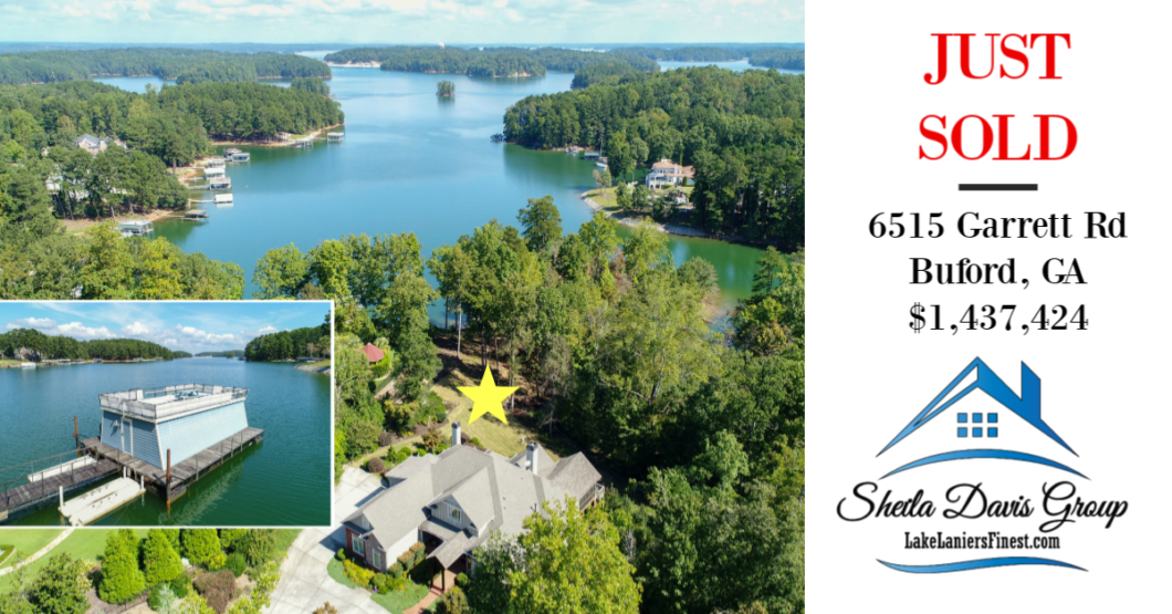 #1 Luxury Lake Lanier Realtor, real estate agency Lake Lanier, Sheila Davis Group, 770-235-6907