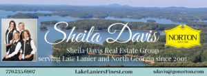 Sheila Davis Group Lake Lanier Homes for Sale, GA