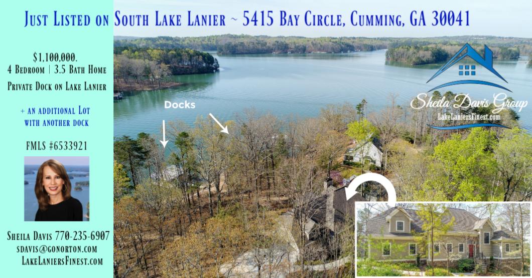 Lake Lanier home for sale Georgia Real Estate Agent