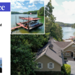 Lake Lanier home for sale with dock
