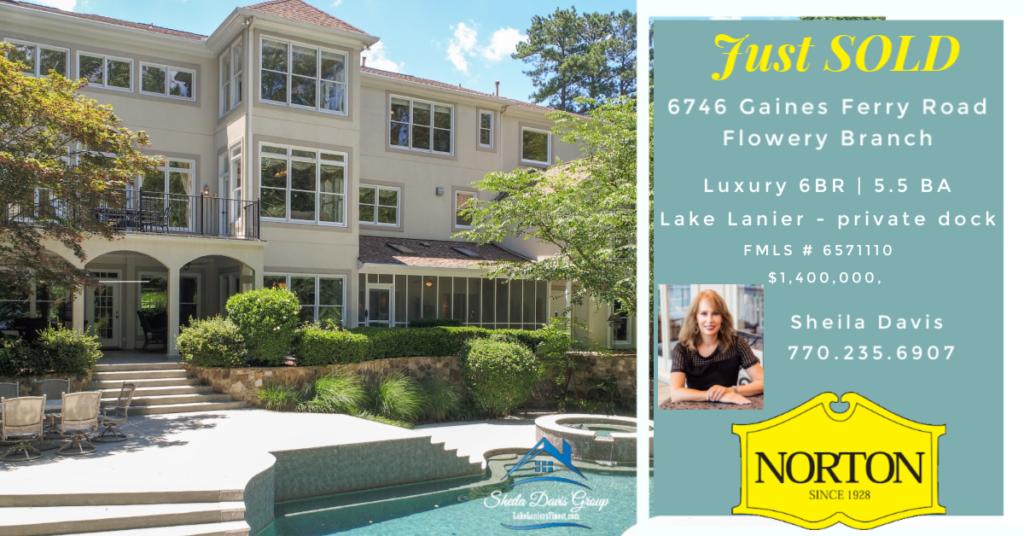Lake Lanier Homes for sale - sold by Sheila Davis Group #1 Lake Lanier Sales