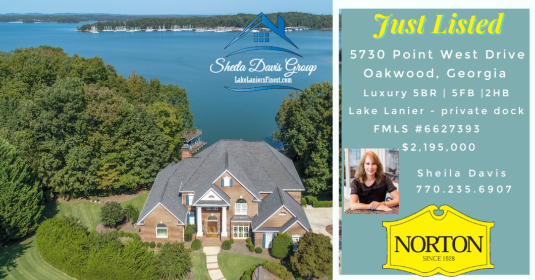 Luxury homes on Lake Lanier for sale Sheila Davis Real Estate Group