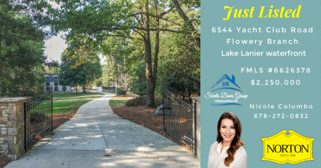 Lake Lanier luxury home for sale
