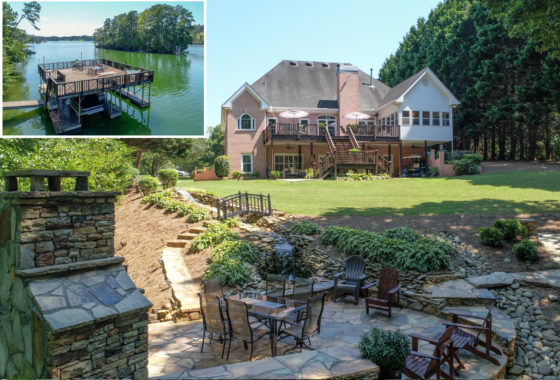 lake Lanier home for sale Sheila Davis Group GA Ridgewood Point Gainesville GA