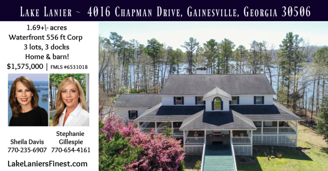 Lake Lanier #1 Realtor top sales