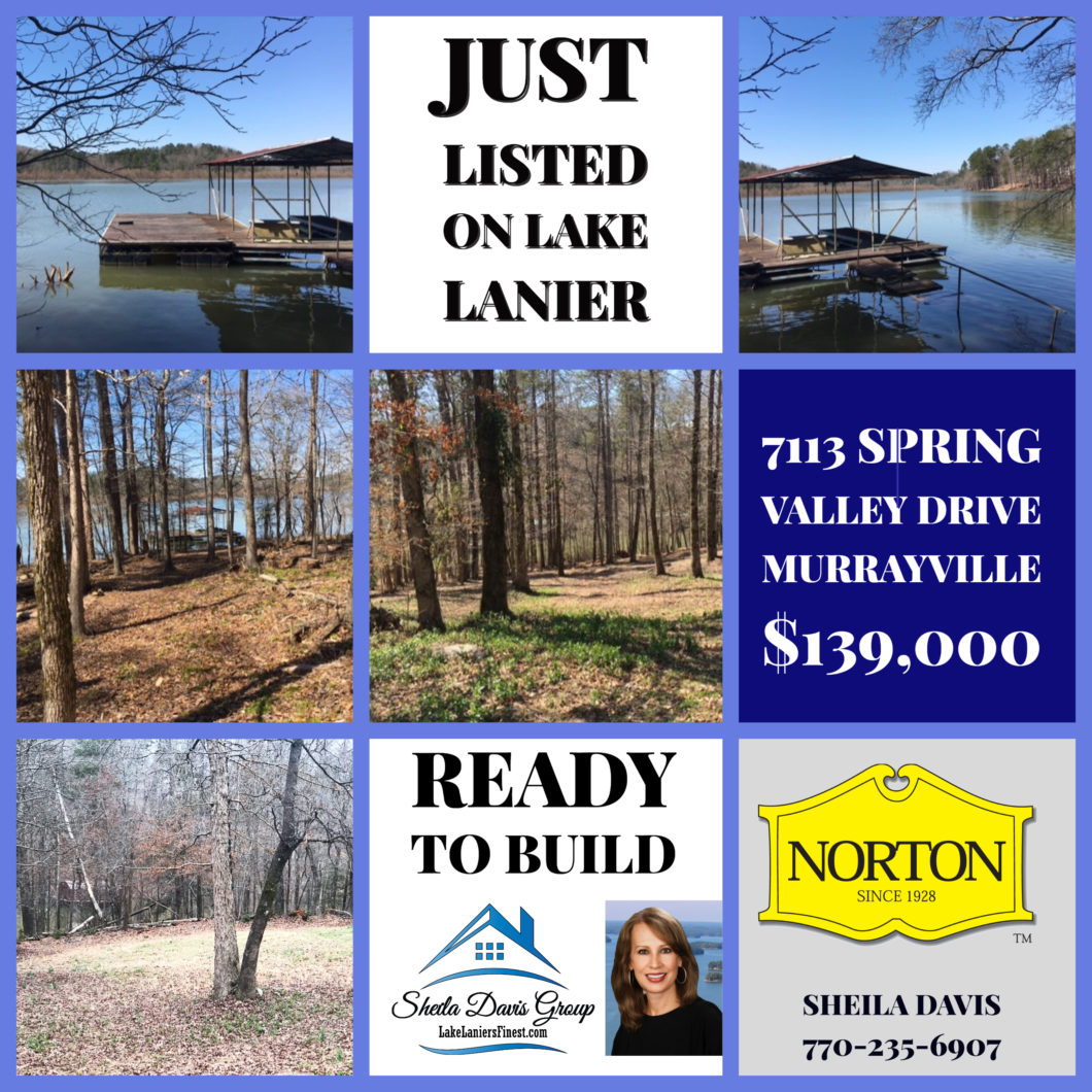 Top Lake Lanier Realtor home sales