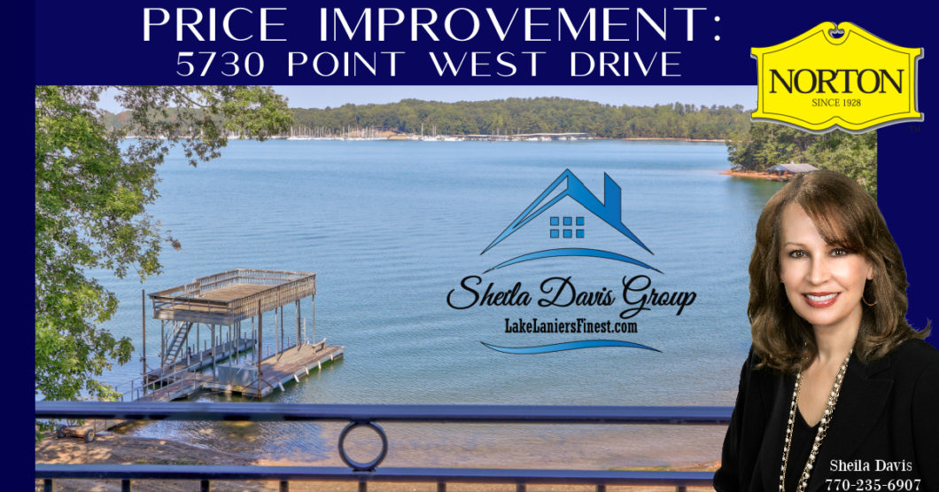 lake lanier price improvement 5730 Point West Dr