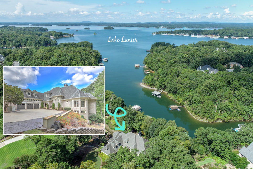 5610 Point West Dr Lake Lanier luxury home for sale Sheila Davis Group