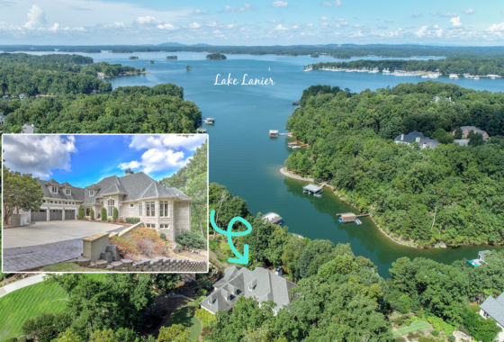 Sheila Davis 5610 Point West Drive Lake Lanier Luxury home for sale