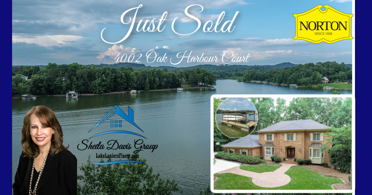 Lake Lanier homes for sale Sheila Davis Real Estate agent group