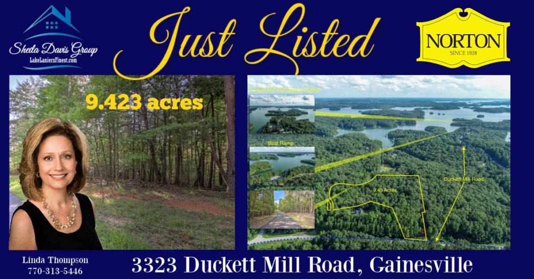 private acreage near lake lanier for sale