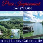 Lake lanier home for sale dock Sheila Davis Group