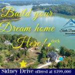 2273 Sidney Drive Build new home lake lanier ga