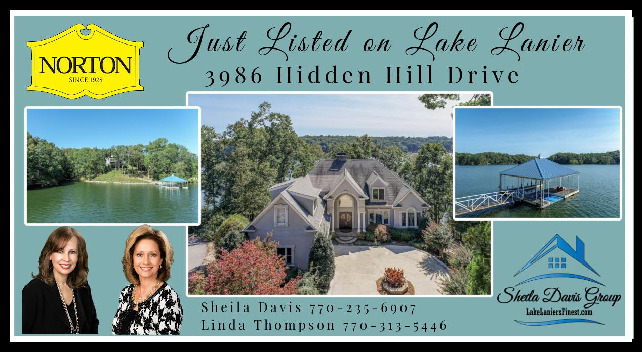 3986 Hidden Hill Drive -Sheila Davis Lake Lanier Real Estate