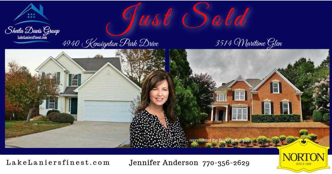 Jennifer Anderson, Realtor - Sheila Davis Lake Lanier Real Estate