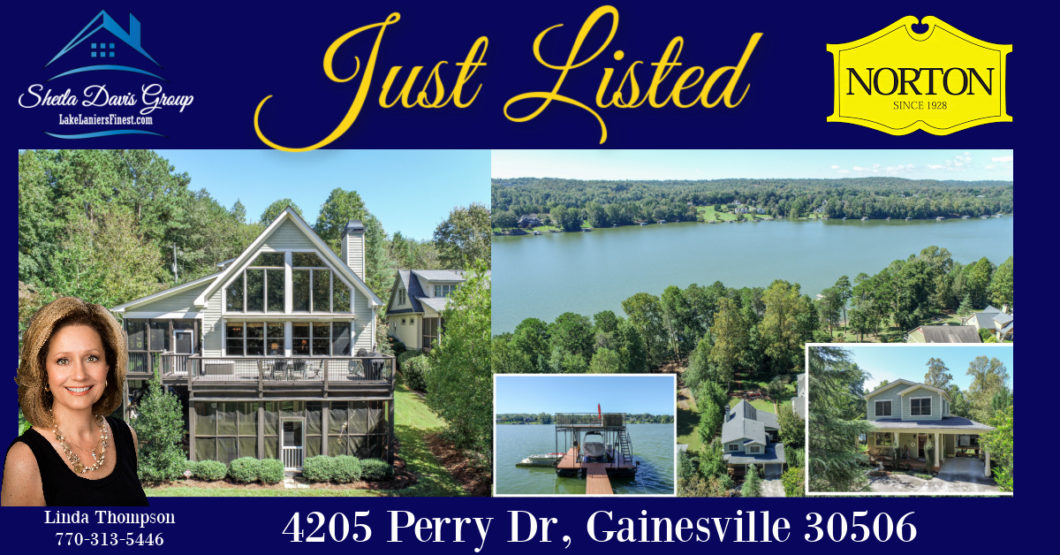 Sheila Davis Group Lake Lanier Real Estate Linda Thompson