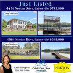 just listed on Lake Lanier homes for sale
